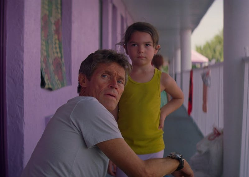 """The Florida Project"" is an indie film starring Brooklyn Prince and Willem Dafoe, who is a nominee for the Golden Globes for Best Performance by an Actor in a Supporting Role in Any Motion Picture. ""The Florida Project"" will be screening at 7 p.m. and 9:30 p.m. Jan. 20 at the I Fell Building."
