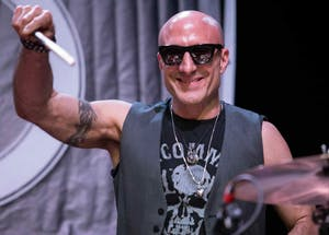"""Drummer and IU alum Kenny Aronoff will visit IU from Oct. 20 and 21. Aronoff, who has played on over 60 Grammy-nominated recordings, will participate in """"An Evening with Kenny Aronoff"""" starting at 7 p.m. Oct. 20 in the Music Arts Center Room 066."""