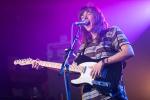 Courtney Barnett performs at the Concorde 2 Brighton on March 27, 2015, in Brighton, England. Bernett released her second solo album on May 18.