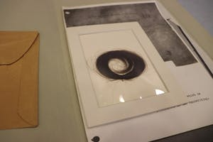 Edgar Allen Poe's hair is on display, along with Sylvia Plath's, in the Lilly Library. The Poe collection has been at IU since 1956.