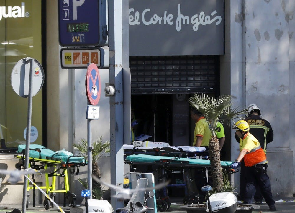 Trump condemns Barcelona attack, offers US help — The Latest