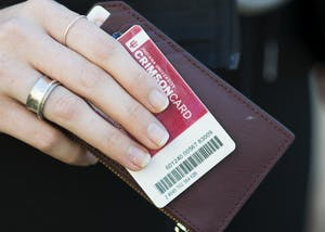 IU students from all campuses will be able to use CrimsonCards, the successor to CampusAccess cards. Students must switch over to the new cards before summer 2018.