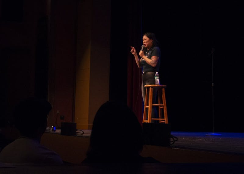 Comedian Margaret Cho performs as part of the Limestone Comedy Festival on Thursday, May 31, at the Buskirk-Chumley Theater. The festival runs until June 2.