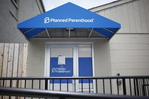 Bloomington's Planned Parenthood is located on South College Avenue.
