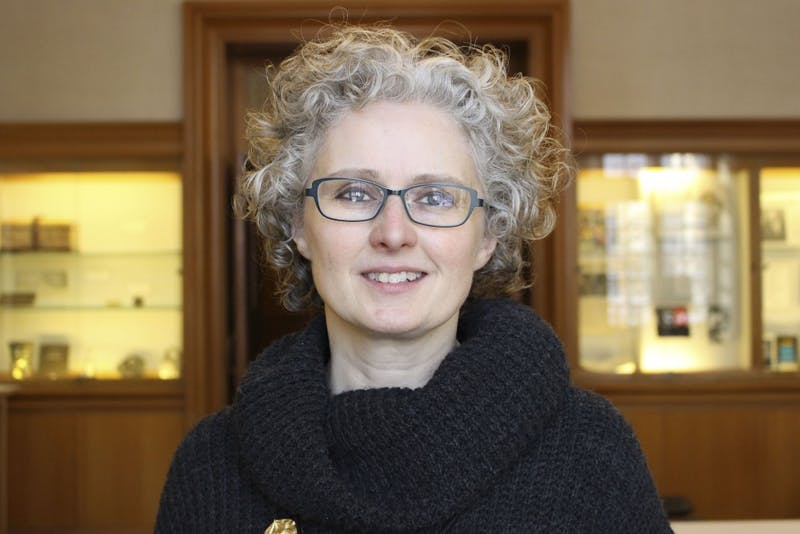 Associate director of the Lilly Library Erika Dowell said she enjoys displaying contemporary works as well as medieval texts over 500 years old.