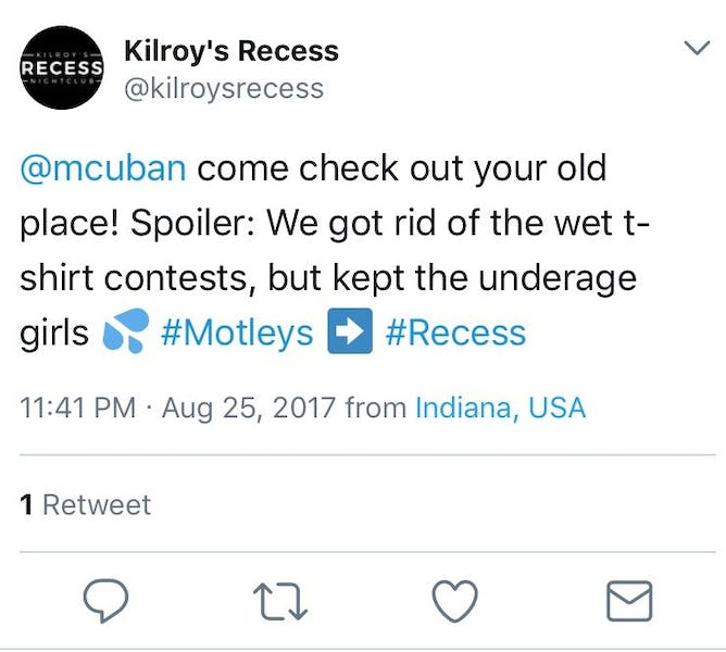 Updated kilroys recess continues to draw online criticism for updated kilroys recess continues to draw online criticism for tweet indiana daily student malvernweather Gallery