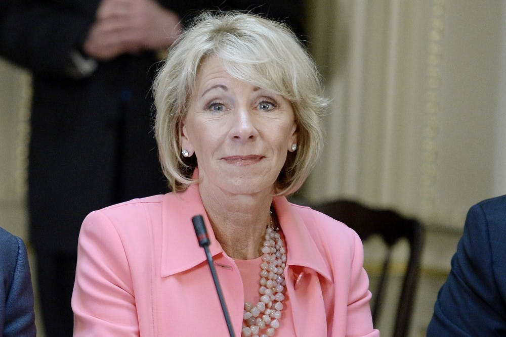 U.S. Department of Education rescinds sexual assault guidance