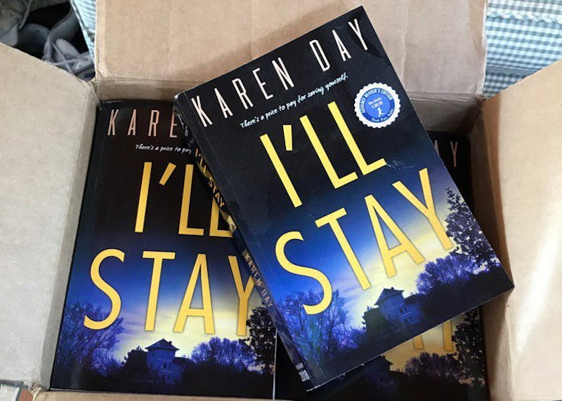 """Karen Day's new book """"I'll Stay,"""" will be published Jan. 30, 2018. Day is an Indiana native, and she graduated from IU in 1984 with degrees in journalism and English."""