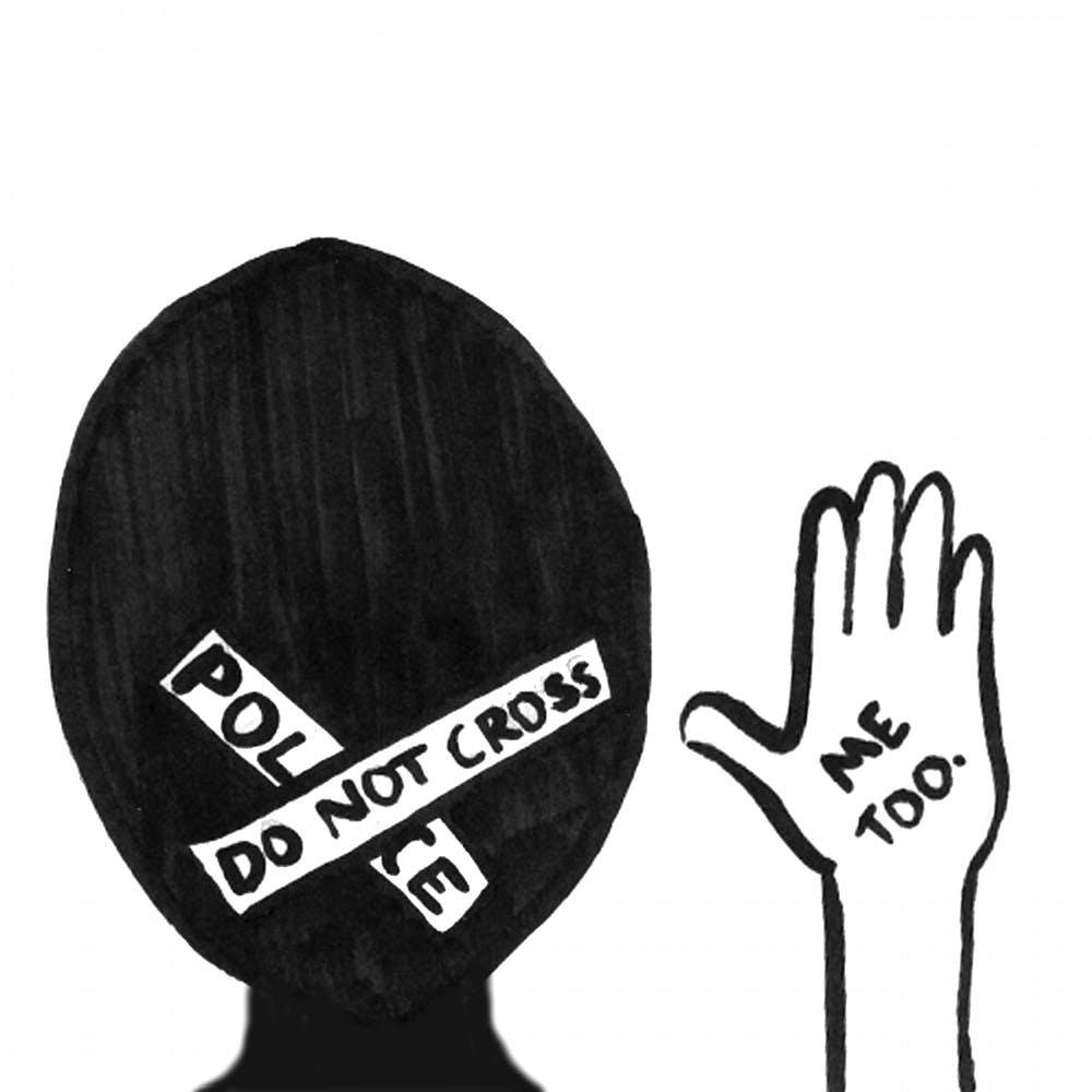 Do not cross police