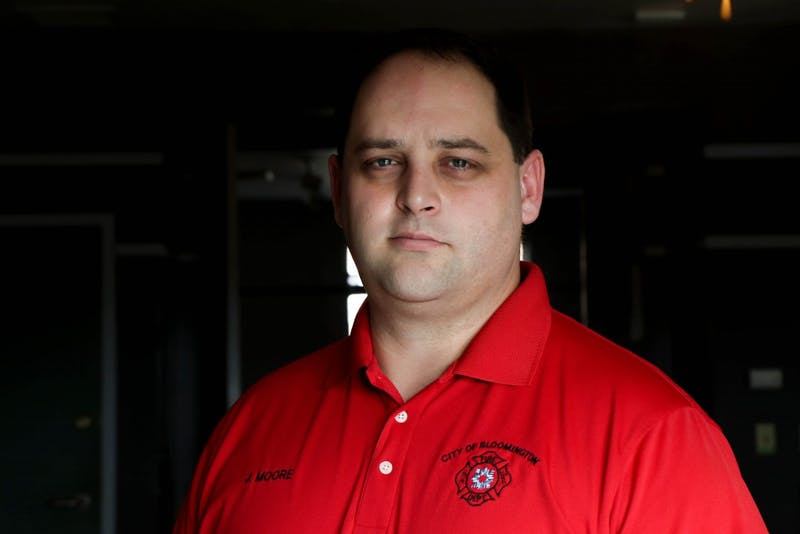 "<p>Bloomington Fire Chief Jason Moore is attempting to set up a support program to help firefighters feel more comfortable sharing their struggles with mental health. ""In our profession, we are supposed to help everyone,"