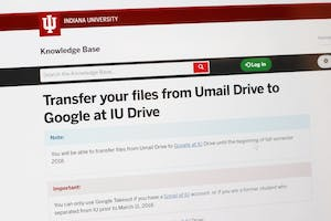 University Information Technology Services is working on upgrading university emails. The transfer from Umail Drive to Google began March 11.