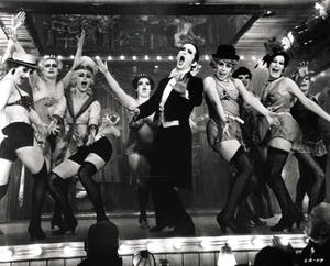 "Joel Grey performs in the 1972 film ""Cabaret."" The musical version is coming March 20 and 21 to the IU Auditorium."