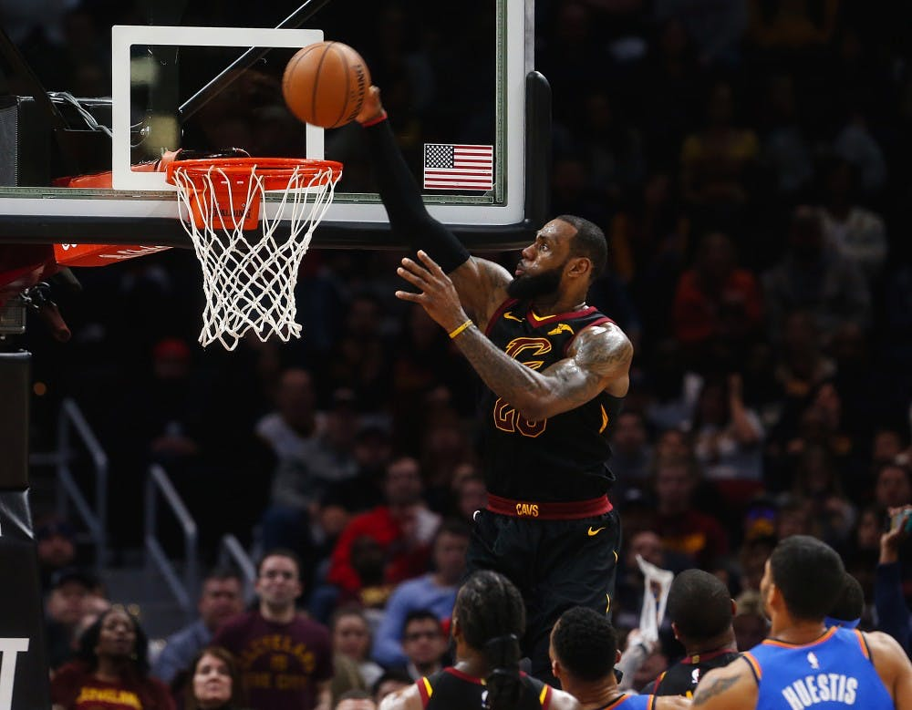 LeBron James posts triple-double as depleted Cavaliers roll