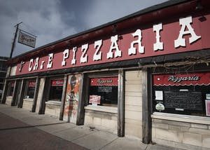 Cafe Pizzeria opened in 1953 and sells pizza, stromboli, sandwiches and burgers. The shop is located on Kirkwood Avenue.