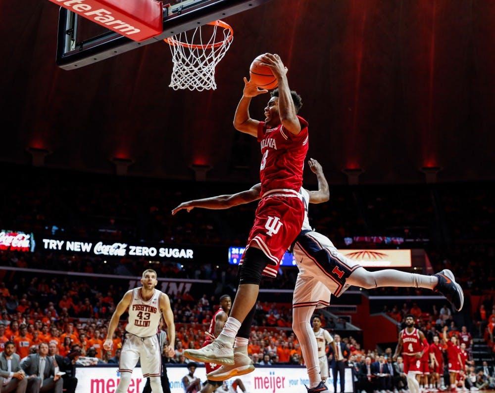 Guyon_IU vs. Illinois Basketball_01242018_001