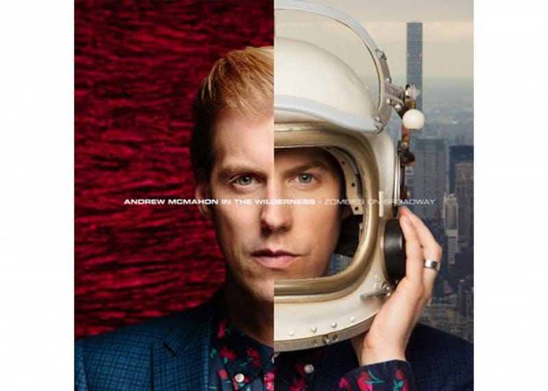 "Andrew McMahon, who also performs as Andrew McMahon in the Wilderness, released ""Zombies on Broadway"" on Feb. 10, 2017. He will perform at 8 p.m. Tuesday at the Bluebird Nightclub."
