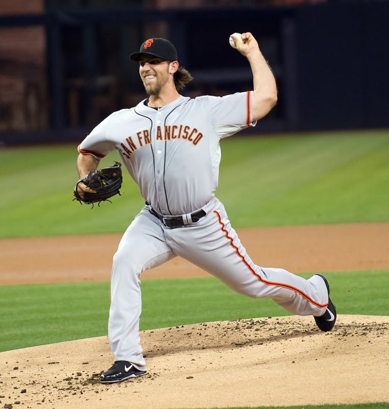 SD Dirk/CC BY 2.0 Madison Bumgarner is looking to bounce back from his 2017 campaign.