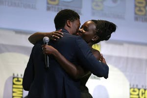 GAGE SKIDMORE/CC By 2.0 Chadwick Boseman and Lupita Nyong'o will star in Marvel's forthcoming Black Panther.