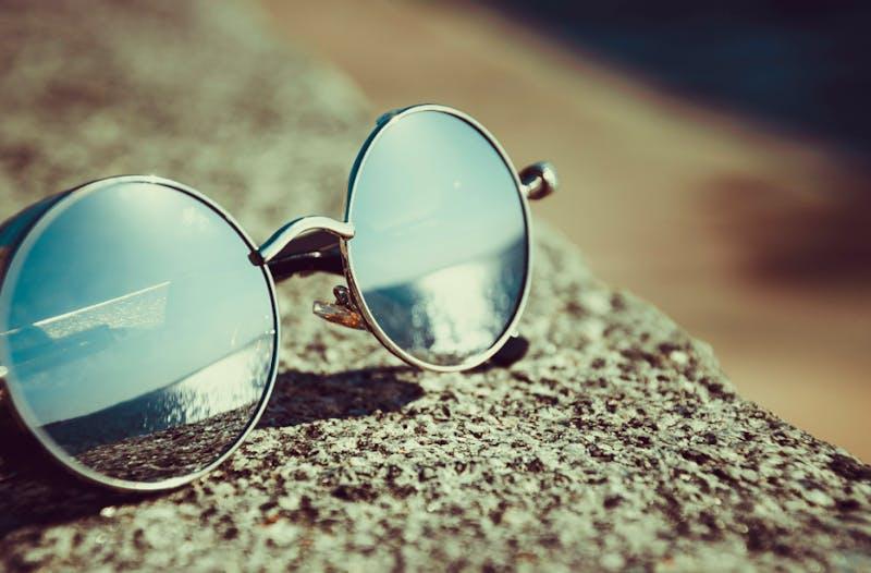 PUBLIC DOMAIN The concept of sunglasses dates back to the Ancient Roman Empire.