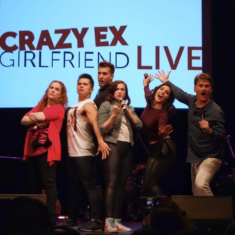 COURTESY OF  FEI-FEI The Crazy Ex-Girlfriend cast put on an entertaining, charming show.
