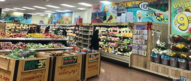 COURTESY OF ALIZAY JALISI Jalisi enjoys going to Trader Joes to recharge.