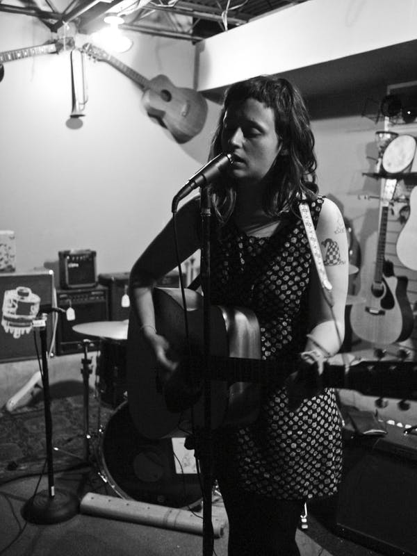 RAMSEY BEYER/CC BY 2.0 Waxahatchee was the main act of the first night of this year's U+N Fest.