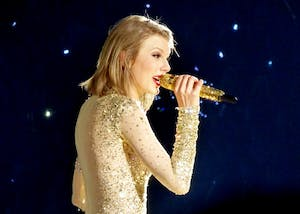 GABBOT/CC BY-SA 2.0 Taylor Swift's new album Reputation dabbles unsuccessfully in hip-hop.