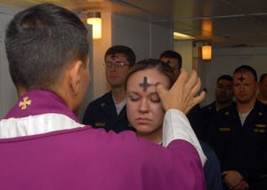 PUBLIC DOMAIN The 40-period of Lent began for Christians this week on Ash Wednesday.