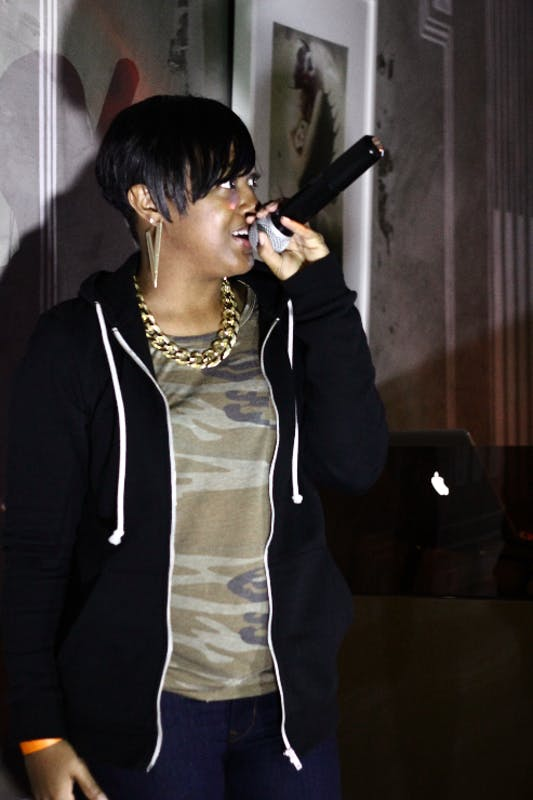 COUP D'ORIELLE/CC BY-SA 2.0 Rapsody's debut solo album, The Idea of Beautiful, came out in 2012.