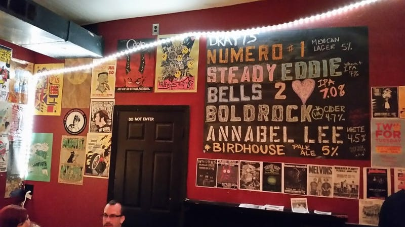 LHCOLLINS / CC BY-SA 4.0 The Ottobar frequently hosts local and touring punk and indie bands.