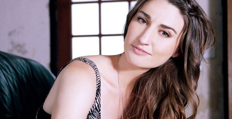 """Lunchbox lp/cc by-sa 2.0t Singer Sara Bareilles released the song """"Chasing The Sun"""" in 2013."""