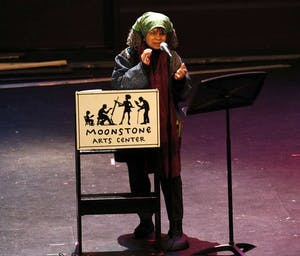 LARRY ROBIN?CC BY-SA 4.0 Celebrated poet Sonia Sanchez was a featured panelist at the event.