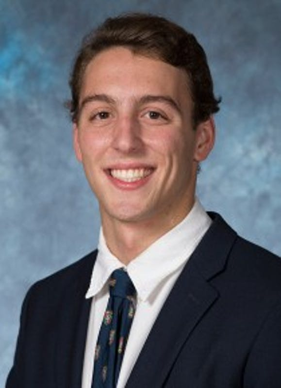 COURTESY OF HOPKINSSPORTS.COM  Sophomore Brandon Fabian has become a national champion in the 200 Free.