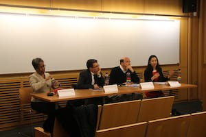 OMS panelists included Dr. Peter Beilenson and Dr. Joshua Sharfstein.