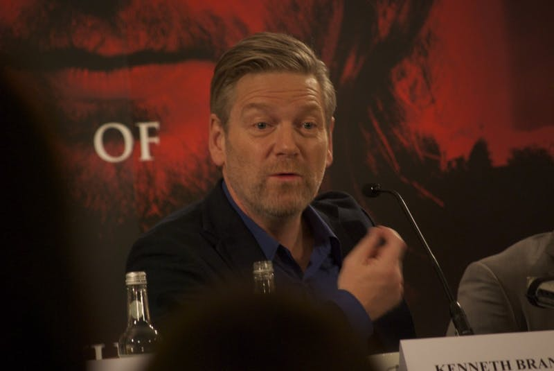 MELINDA SECKINGTON/CC BY 2.0 Kenneth Branagh both directed and starred in Murder on the Orient Express.