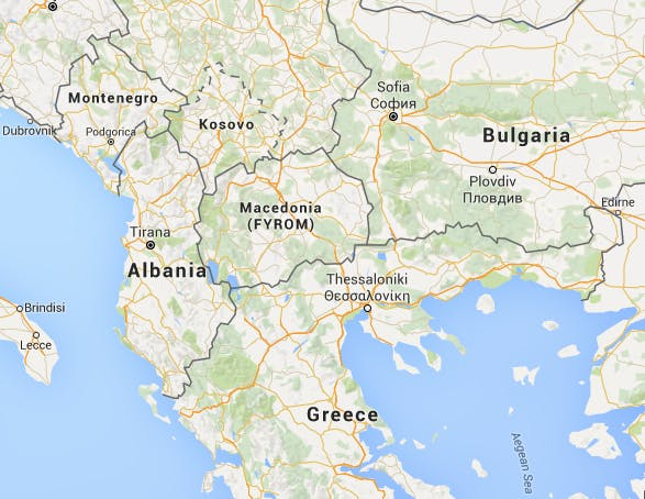 Macedonias brightest students education minister talks grant google maps macedonia is located in southeastern europe near bulgaria and greece gumiabroncs Images