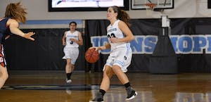 HOPKINSSPORTS.COM The Blue Jays currently sit in fourth place in the Centennial Conference.