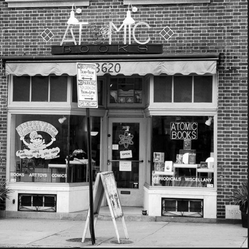 EARL/CC-BY-NC2.0 Atomic Books is an independent bookstore located in Hampden.