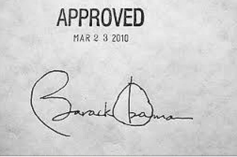 Obama (Obamacare)/CC BY-SA 4.0 Obamacare has been heavily criticized for its individual mandate.