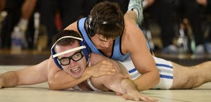 HOPKINSSPORTS.COM  Junior Isaac Morales leads the Blue Jays with nine straight match wins.