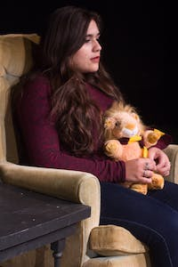 COURTESY OF ESTHER RODRIGUEZ Daria Ramos-Izquierdo plays one of the leads in Esther Rodriguez's play.