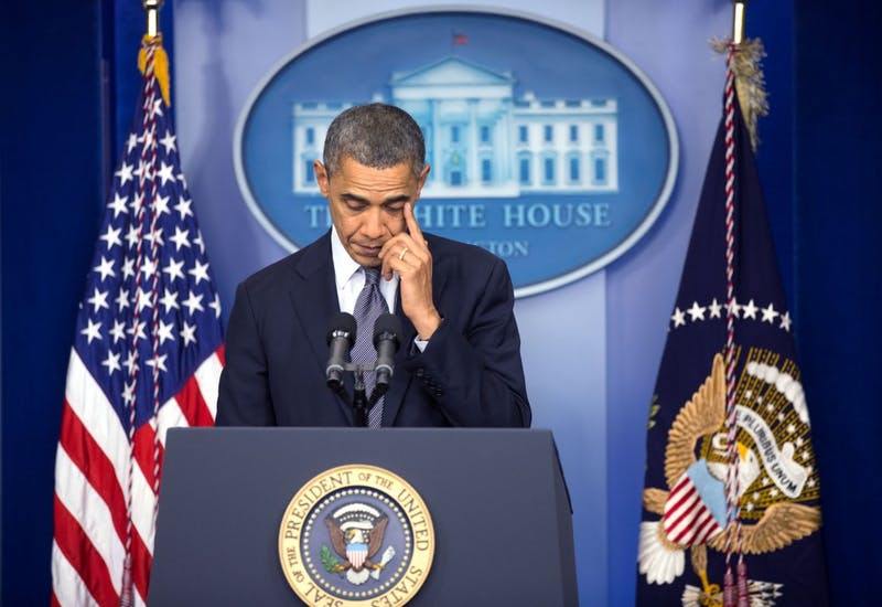 Courtesy of the Obama White House Archives For many, the Sandy Hook Elementary School shooting was the last straw in the gun control debate.