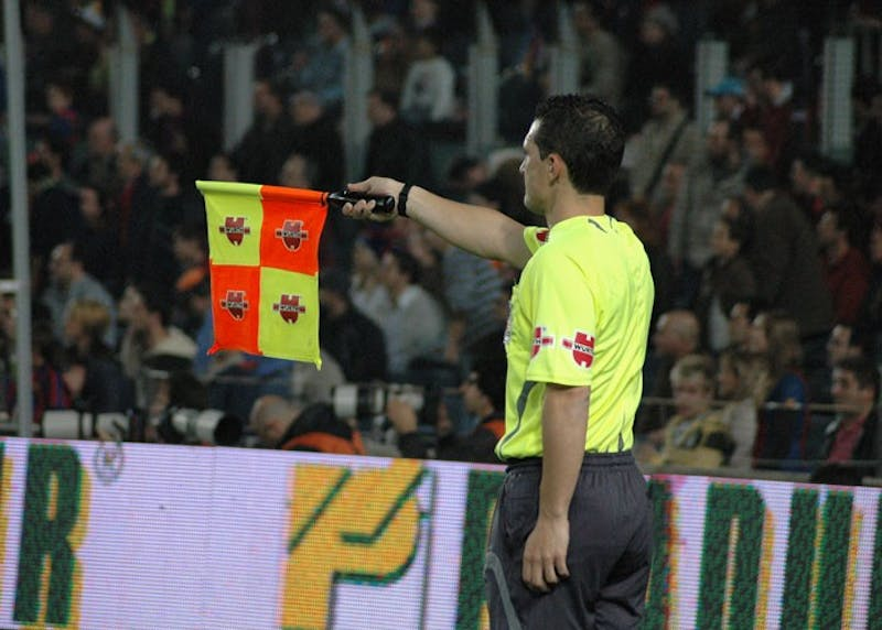DARZ MOL/CC BY-SA 2.5 ES The VAR technology is supposed to help referees with calls such as offsides.
