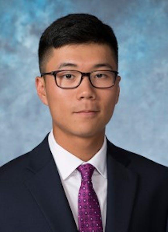 COURTESY OF HOPKINSSPORTS.COM  Freshman tennis player Eric Yoo.
