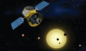 PUBLIC DOMAIN  NASA, along with the Massachusetts Institute of Technology, launched TESS, an exoplanet explorer.