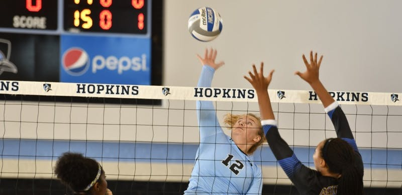 HOPKINSSPORTS.COM Volleyball moved up in the rankings this week, going from 24th to 23rd in the country.