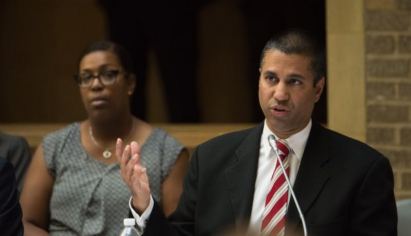 PUBLIC DOMAIN Ajit Pai is the chairman of the U.S. Federal Communications Commission.