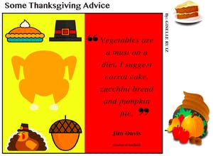 Some Thanksgiving Advice