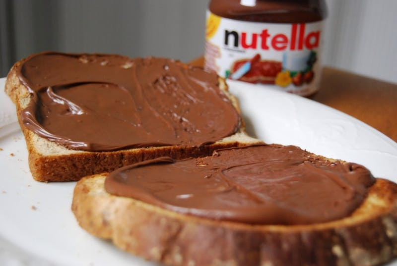 Janine / CC BY 2.0 Grinsfelder believes writing, math, and Nutella are somewhat similar.