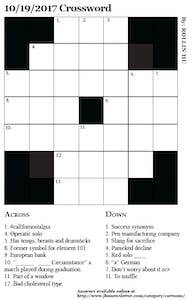 10/19/2017 Crossword